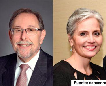 Dr. Richard Schilsky Director médico y Vicepresidente Ejecutivo, ASCO; y Shelley Fuld Nasso Directora General, NCCS.